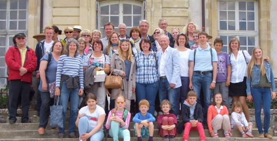 Mai 2014 Olper zu Gast in Gif-sur-Yvette
