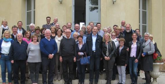 03.-05. Oktober 2015 Olper Bürgermeister in Gif-sur-Yvette verabschiedet